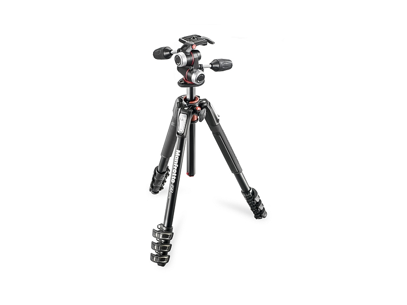 Manfrotto 190XPRO4 + X-PRO 3W