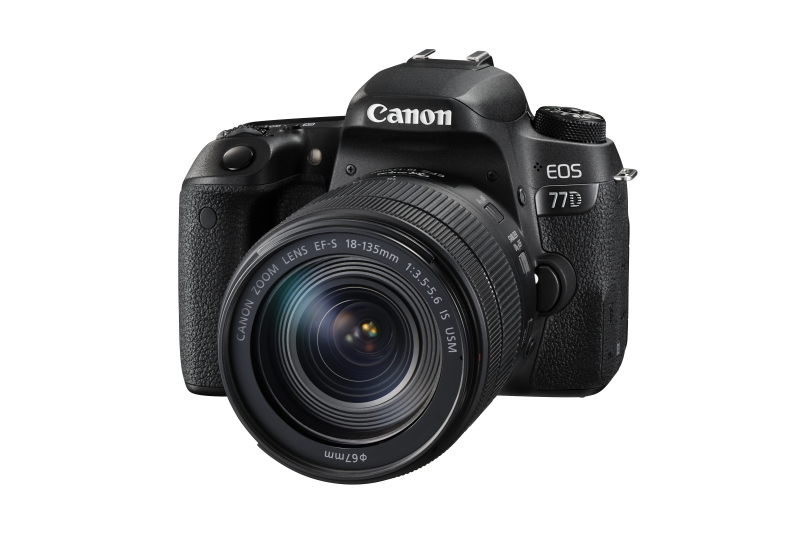 Canon EOS 77D + 18-135 IS USM