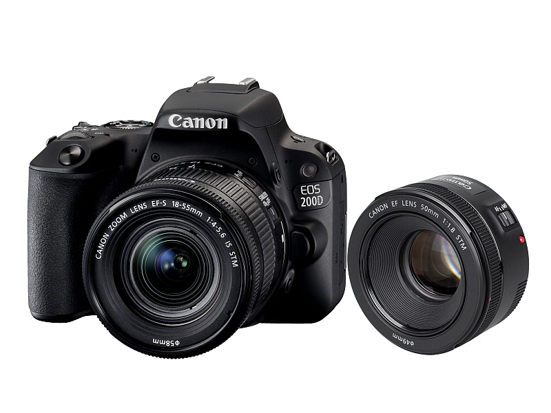 Canon EOS 200D + 18-55mm IS STM + 50mm f/1.8 STM