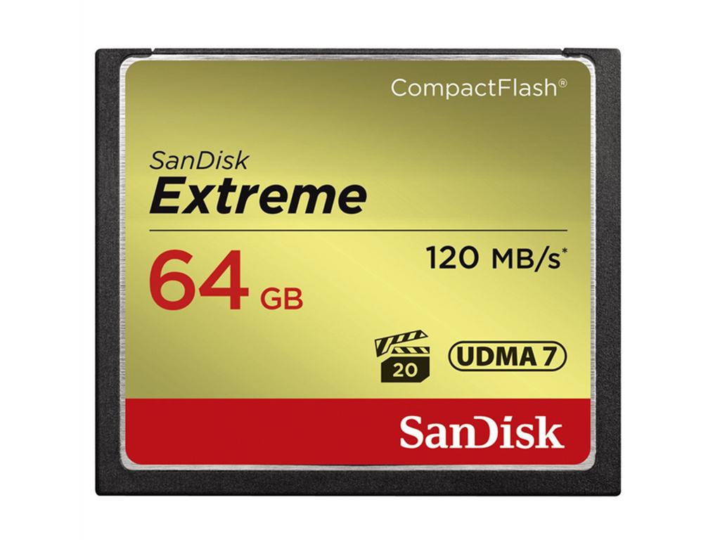 SanDisk CompactFlash Extreme 64GB