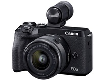 Canon EOS M6 Mark II + 15-45 mm IS STM + EVF-DC2
