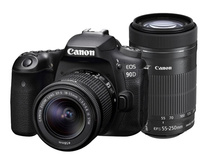 Canon EOS 90D + 18-55mm + 55-250mm